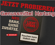 neue lucky strike straight dark zigaretten tabak online. Black Bedroom Furniture Sets. Home Design Ideas
