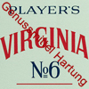 Zigaretten Players Virginia No.6