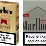 Zigaretten Marlboro Blend 29 wurden abgeschafft
