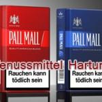 Pall Mall Rot, Blue und Blast im neuen Design