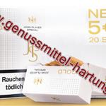 Zigaretten JPS Gold neu auf dem Markt
