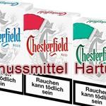 Chesterfield Red, Blue und Menthol im neuen Look