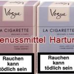 Vogue-Zigaretten-Sorten für Frauen