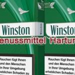 Winston Zigaretten Green Mint ersetzen Menthol