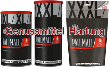 Pall Mall Black Edition neu als Stopftabak - TABAK ONLINE ... Pall Mall Black