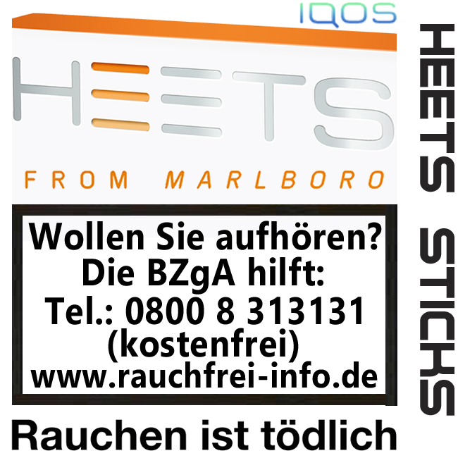 IQOS from Marlboro - HEETS Sticks Amber Label Tobacco