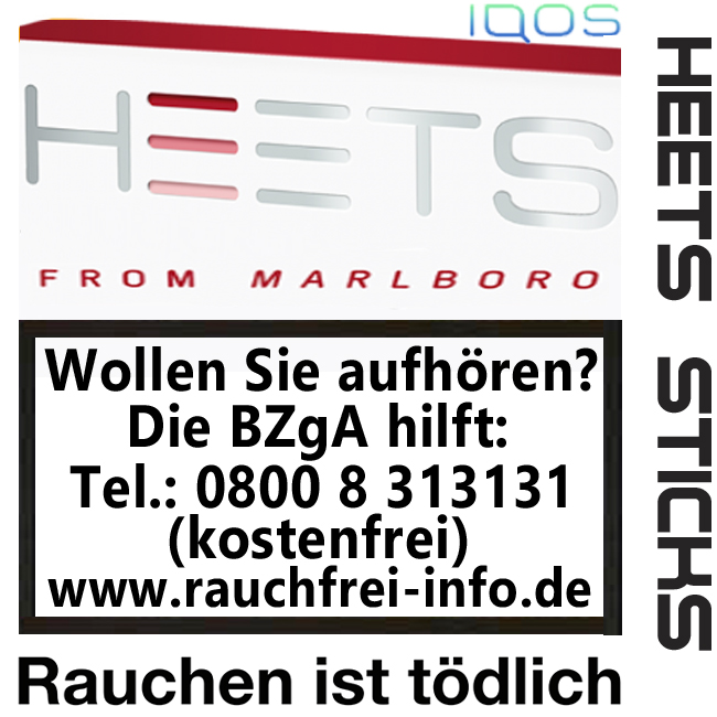 IQOS from Marlboro - HEETS Sticks Rot Label Tobacco