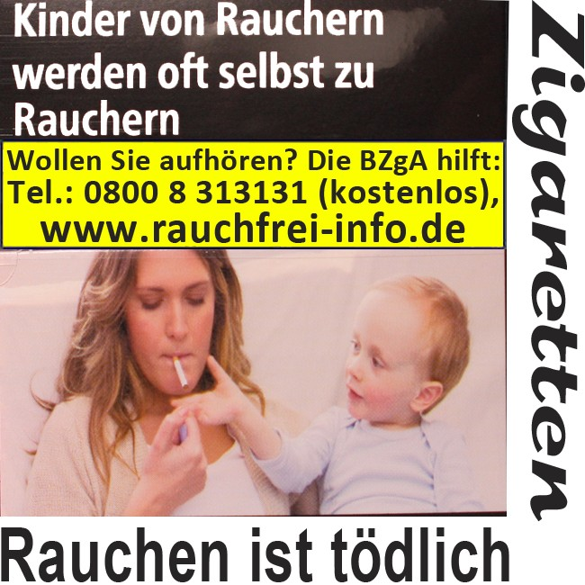 Roth-Haendle ohne Filter Zigaretten